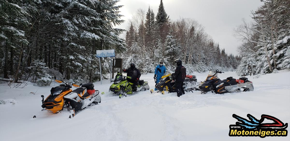 Riding Early in the Season - Be Cautious - snowmobilers - snowmobiles