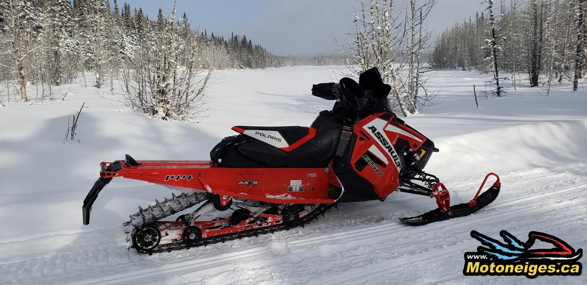 Review of the 2019 Polaris 850 Switchback Assault - snowmobiles - snowmobilers