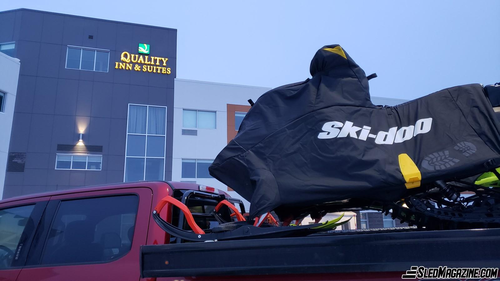 The Quality Inn & Suites in Mont-Joli - A Strategic Location for Snowmobilers - Snowmobile - Snowmobiler
